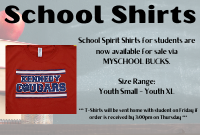 School Spirit Shirts for Sale vie My School Bucks